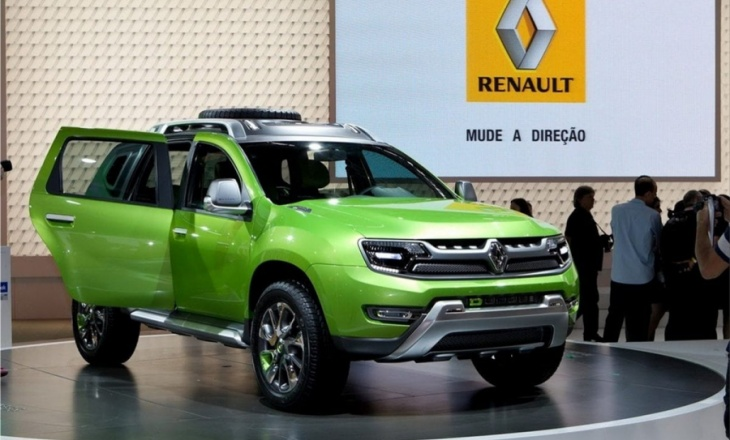 Renault DCross concept at Sao Paulo Auto Show