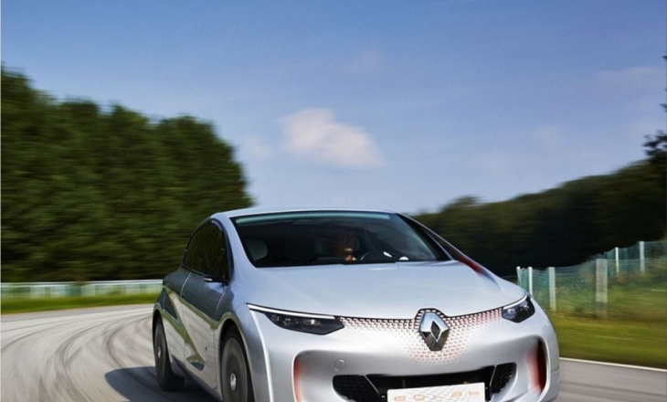 Renault Eolab concept consuming 1 L / 100 km