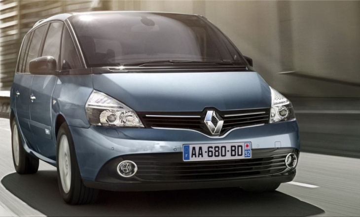 Renault Espace features Renault's new styling identity