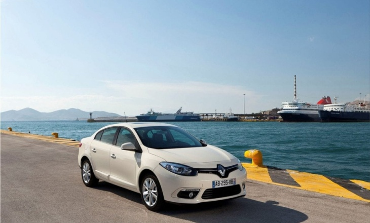 Renault Fluence in Istanbul