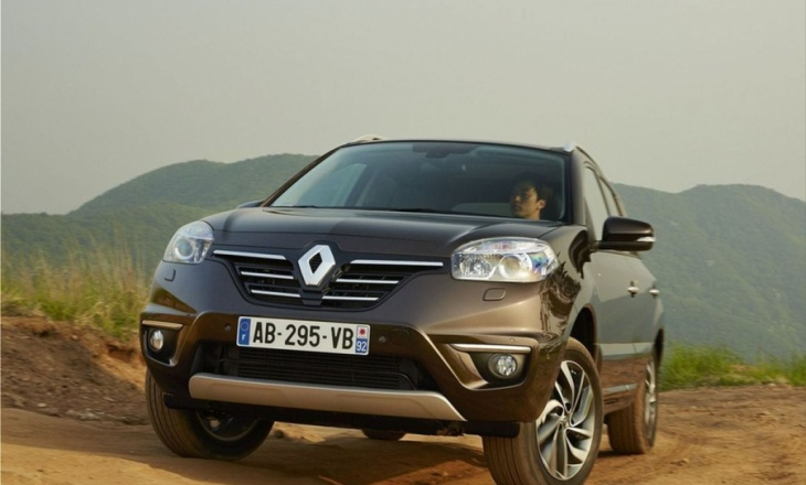 Renault Koleos 4x4 crossover - character and elegance