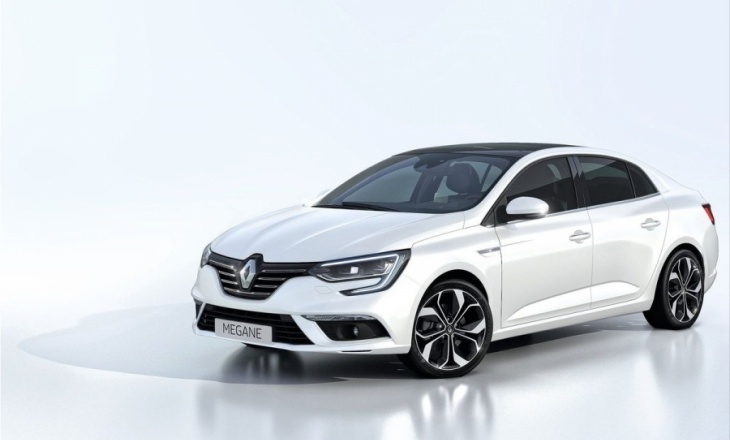 Renault Megane Sedan - a dynamic and elegant saloon