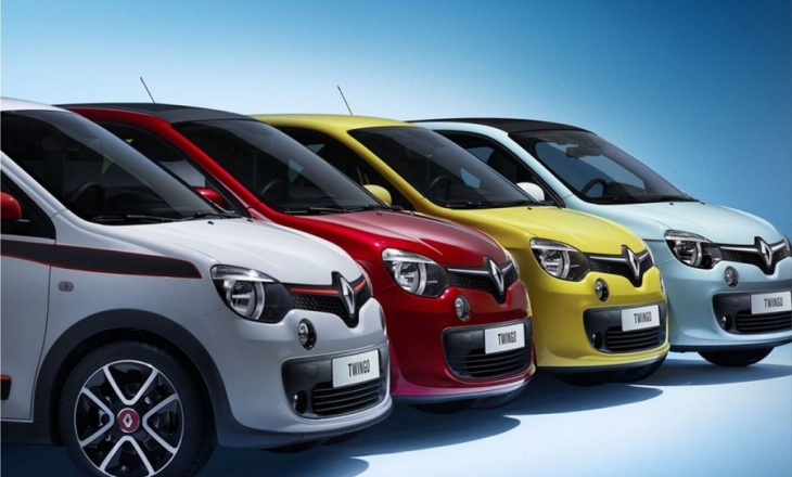 The Renault Twingo second-generation