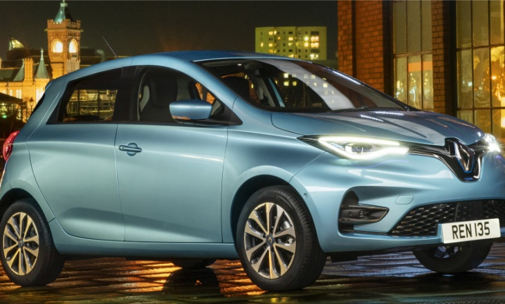 Renault Zoe is loved by Europeans