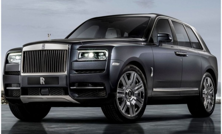 Rolls-Royce Cullinan - luxury, performance and usability