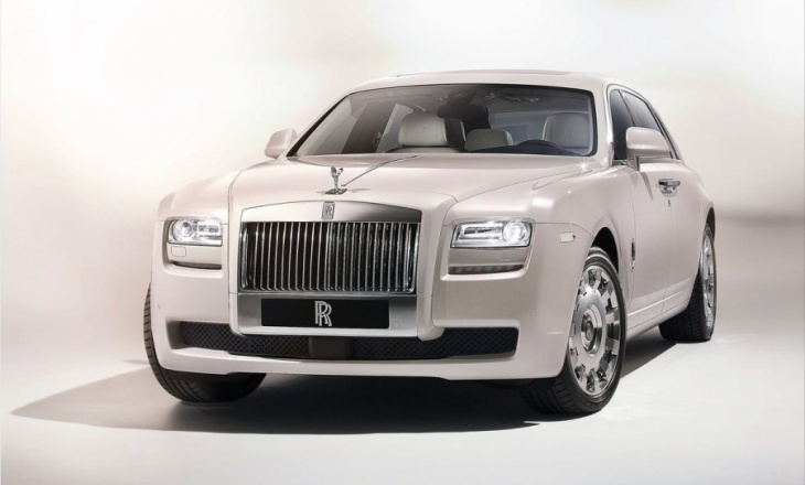 2012 Rolls Royce Ghost Six Senses Concept highly-bespoke luxury model