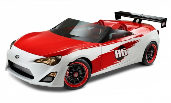 Scion FR S Speedster a true sports car