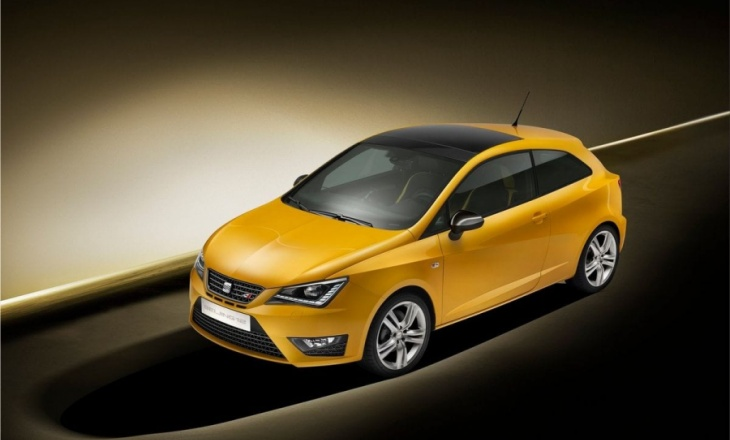 2012 Seat Ibiza Cupra Concept a sports car for every day