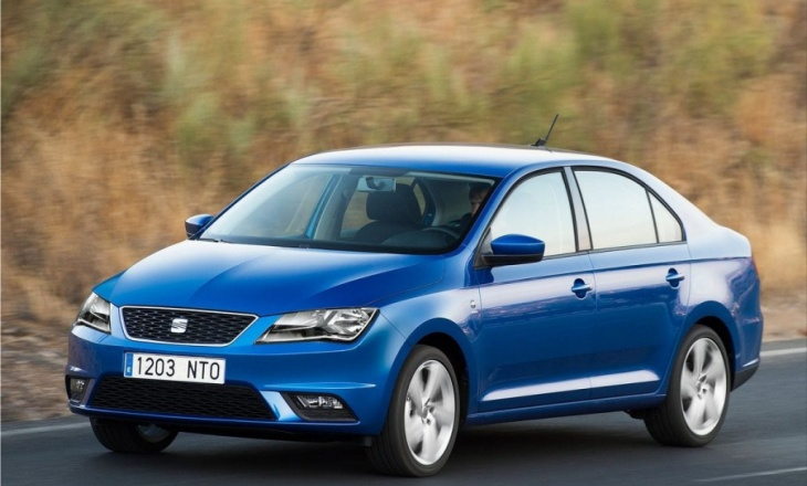 2013 Seat Toledo a five-door, compact notchback saloon