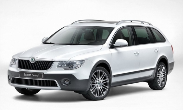 2013 Skoda Superb Outdoor