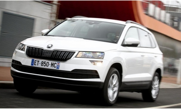 Skoda Karoq Scout made its debut