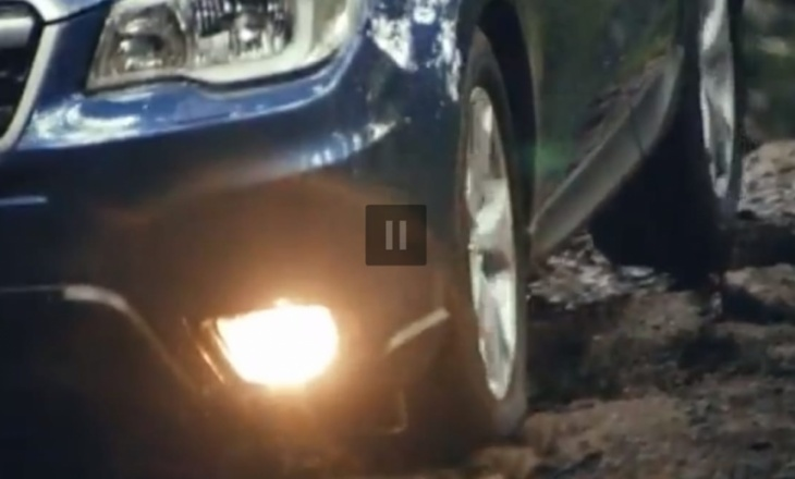 First videos of Subaru Forester