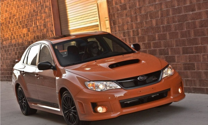 Subaru Impreza WRX Special Edition at the 2012 SEMA Show