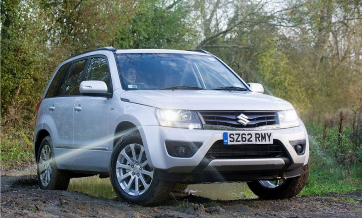 The fresh faced Suzuki Grand Vitara