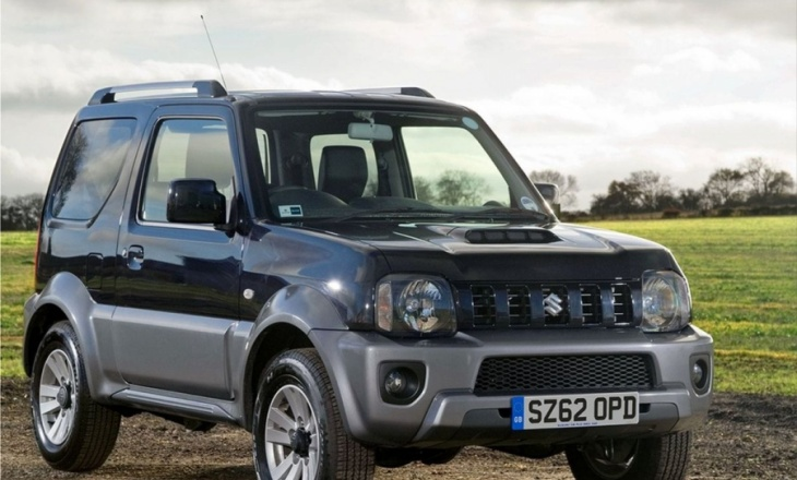 Suzuki Jimny is unrivaled in its off-road class