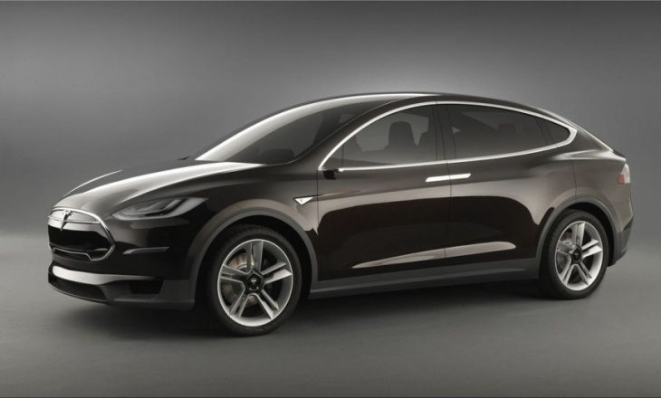 Tesla Model X has 40% more room than a Q7