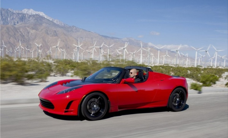 Next-generation sports car - Tesla Roadster 2.5