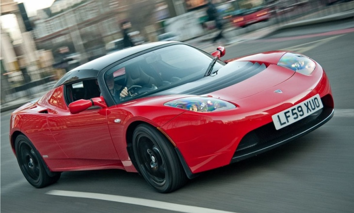 Tesla Roadster UK sports car