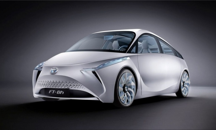 Toyota FT-Bh Concept 2012 exceptional aerodynamic quality