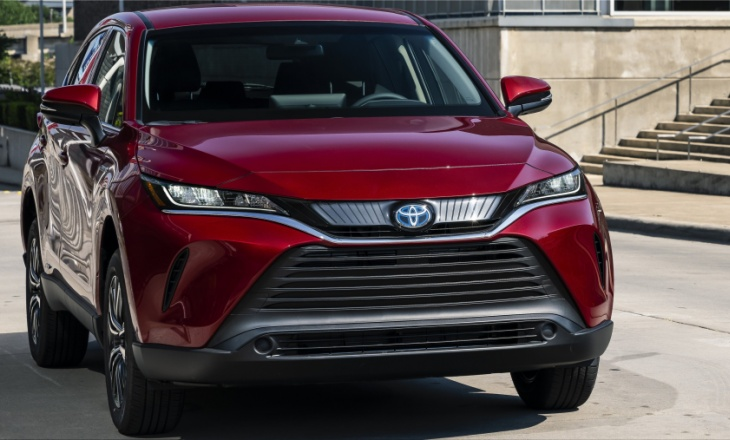 The new 2021 Toyota Venza from 32,838 euros