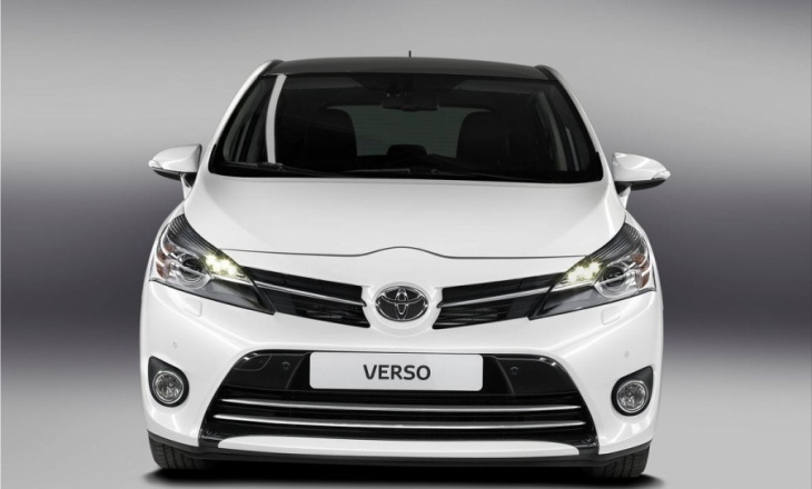 Toyota Verso powerful and sophisticated