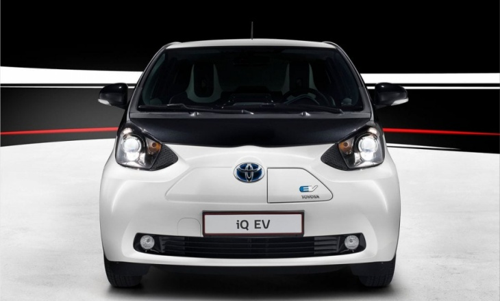 Toyota iQ EV a city commuting vehicle
