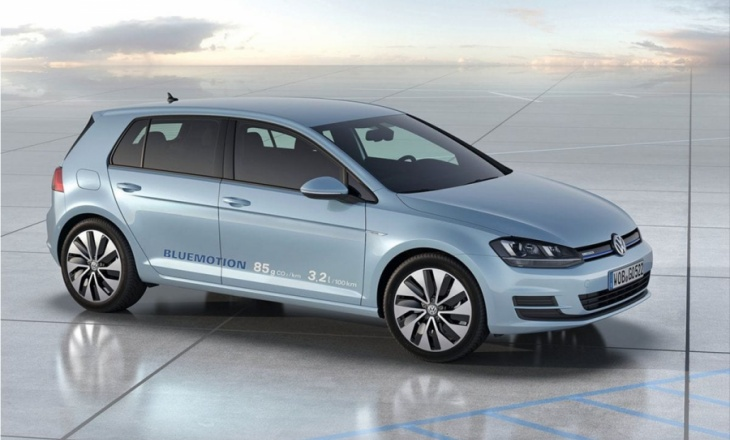 VW Golf BlueMotion Concept at Paris