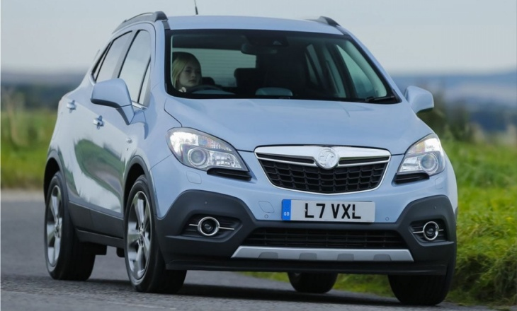 Vauxhall Mokka still practical and user friendly