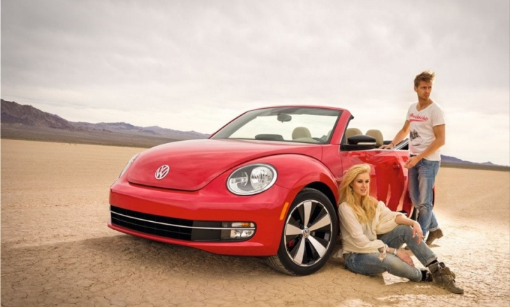 Volkswagen Beetle Convertible cult car