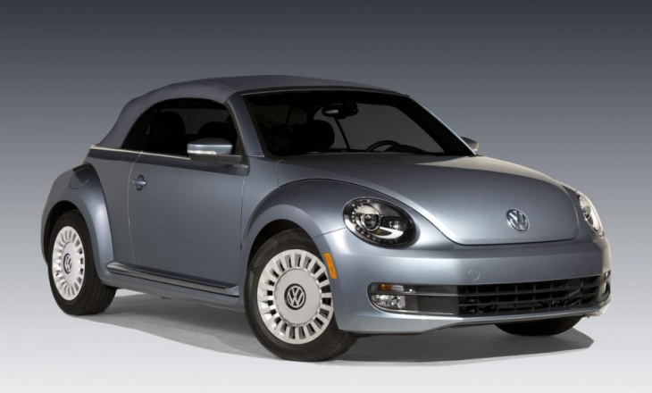 Volkswagen Beetle Denim special edition - 1.8-liter turbocharged