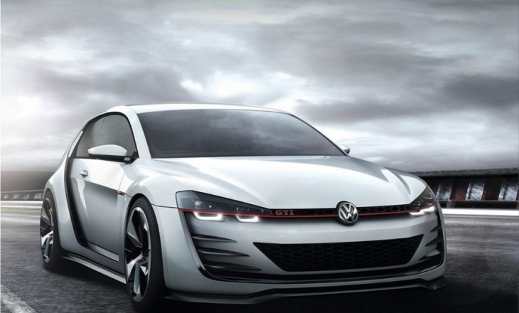 Volkswagen Design Vision GTI Concept Car at Wörthersee