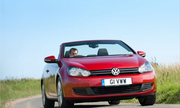 Volkswagen Golf Cabriolet independent approaches to styling