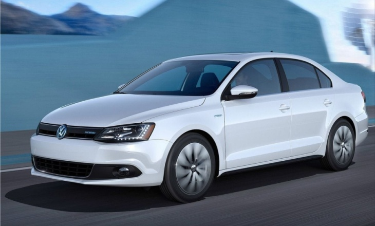 Volkswagen Jetta Hybrid 2013 electric engine