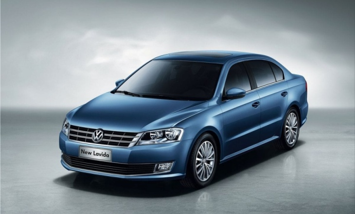 2013 Volkswagen Lavida at Auto China 2012