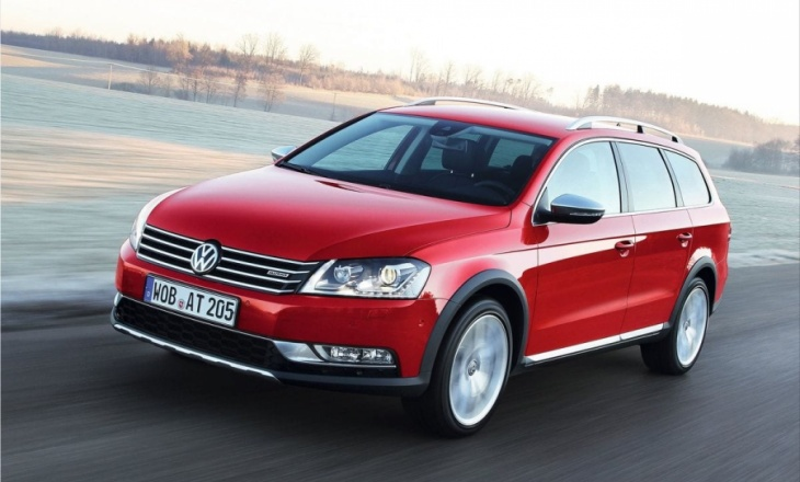 Volkswagen Passat Alltrack 2013 unmistakable addition in accommodation