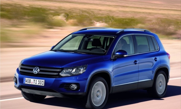 2012 Volkswagen Tiguan fuel-efficient