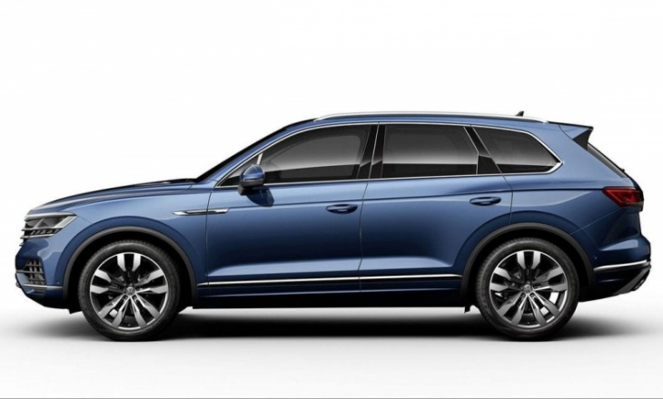 2019 Volkswagen Touareg focused on China