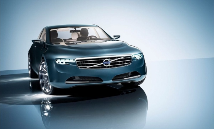 Volvo You Concept - large luxury sedan