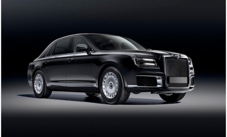 Aurus Senat, the civil version of Vladimir Putin's limousine!