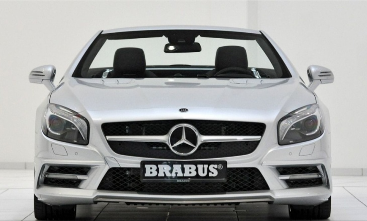 Brabus Mercedes SL Class 520 hp and 186 mph