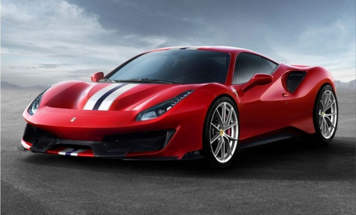 Ferrari 488 Pista at the Geneva International Motor Show