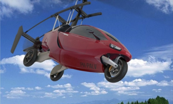 The flying car - a two seat hybrid car and gyro-plane