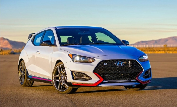 Hyundai Veloster N at the 2018 North American International Auto Show