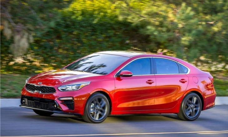 Kia Forte at the 2018 North American International Auto Show
