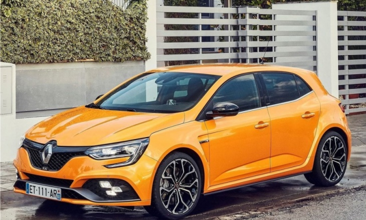 The new Renault MEGANE R.S. - technology and performance