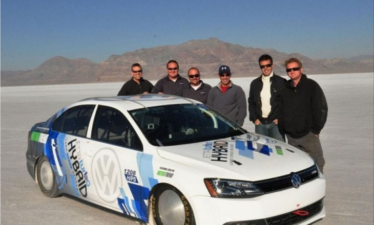 The world's fastest hybrid car - Volkswagen Jetta Hybrid
